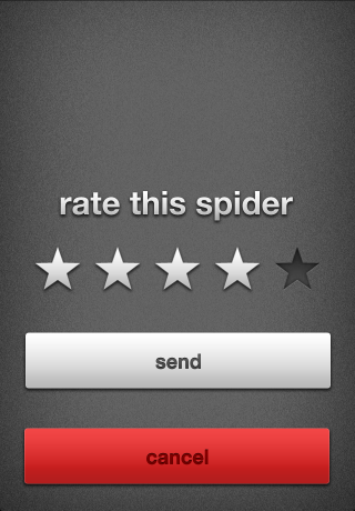 Rate a Spider