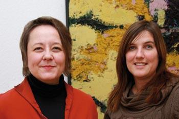 Karen Dörflinger und Katja Arrasz