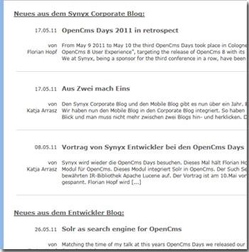 opencms-modul