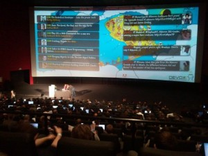 Devoxx 2011 - Twitter wall