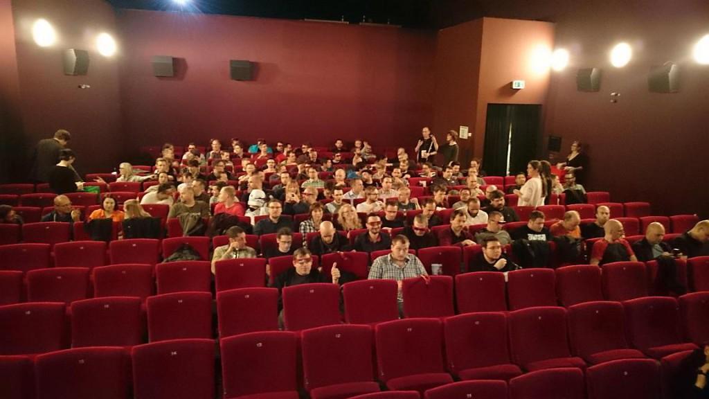 Im Kinosaal